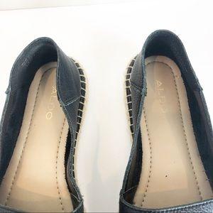 Aldo Shoes - Aldo Black Leather Espadrilles